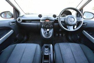 2013 Mazda 2 DE10Y2 MY13 Neo Red 5 Speed Manual Hatchback