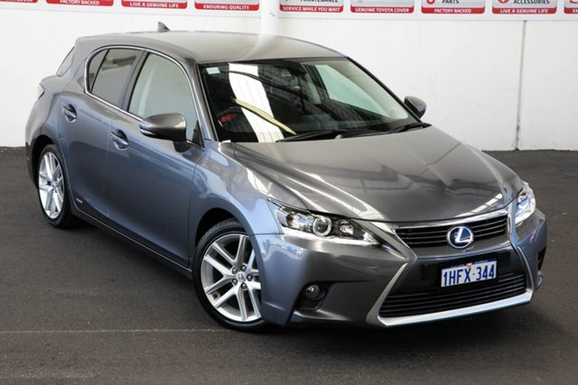 Pre-Owned Lexus CT 200H. Hybrid ZWA10R MY14 Luxury Myaree, 2014 Lexus CT 200H. Hybrid ZWA10R MY14 Luxury Continuous Variable Hatchback