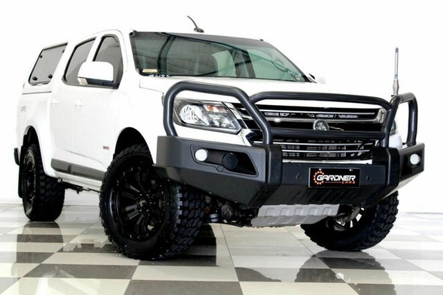 Used Holden Colorado RG MY17 LS (4x4) Burleigh Heads, 2016 Holden Colorado RG MY17 LS (4x4) White 6 Speed Automatic Crew Cab Pickup