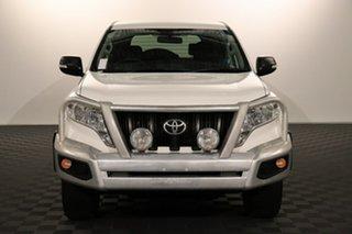 2015 Toyota Landcruiser Prado KDJ150R MY14 GX Glacier 5 speed Automatic Wagon.