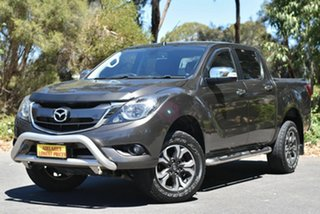 2015 Mazda BT-50 UR0YF1 GT Grey 6 Speed Sports Automatic Utility.