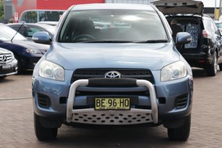 2009 Toyota RAV4 ACA33R MY09 CV Blue 4 Speed Automatic SUV