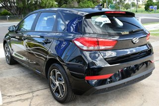 2020 Hyundai i30 PD.V4 MY21 Phantom Black 6 Speed Manual Hatchback.