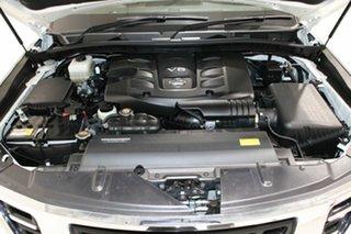 2019 Nissan Patrol Y62 Series 4 MY18 TI (4x4) White 7 Speed Automatic Wagon