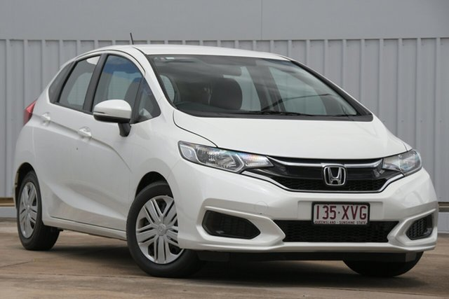 Used Honda Jazz GF MY18 VTi Bundamba, 2017 Honda Jazz GF MY18 VTi White 1 Speed Constant Variable Hatchback