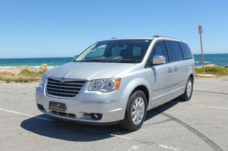 2010 Chrysler Grand Voyager RT 5th Gen MY10 Limited Silver 6 Speed Automatic Wagon
