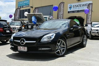 2011 Mercedes-Benz SLK200 BlueEFFICIENCY R172 200 BE Black 7 Speed Automatic G-Tronic Convertible.