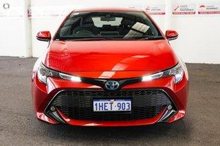 2019 Toyota Corolla ZWE211R SX E-CVT Hybrid Volcanic Red 10 Speed Constant Variable Hatchback Hybrid.