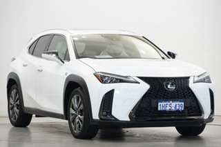 2018 Lexus UX MZAA10R UX200 2WD F Sport White 1 Speed Constant Variable Hatchback