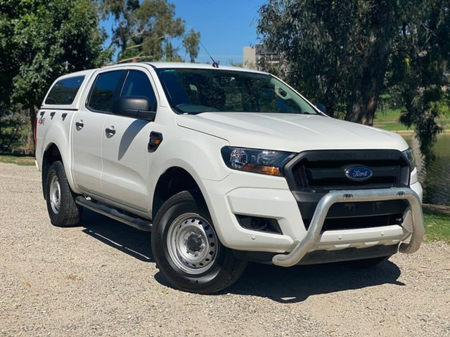 Used Ford Ranger PX MkII XL Wodonga, 2016 Ford Ranger PX MkII XL White 6 Speed Sports Automatic Utility