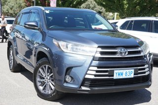 2017 Toyota Kluger GSU55R GXL AWD Grey 8 Speed Sports Automatic Wagon.