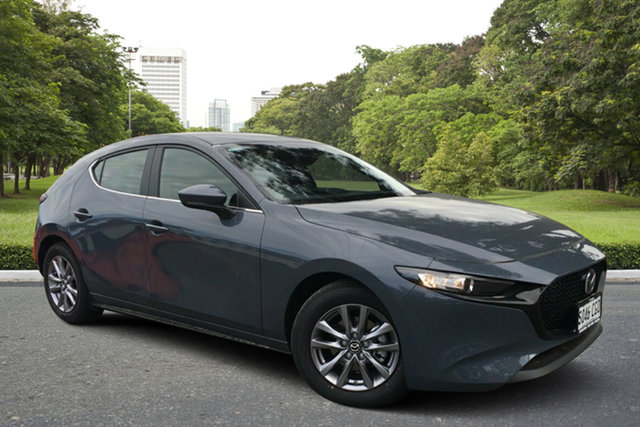 Demo Mazda 3 BP2H7A G20 SKYACTIV-Drive Pure Paradise, 2020 Mazda 3 BP2H7A G20 SKYACTIV-Drive Pure Polymetal Grey 6 Speed Sports Automatic Hatchback