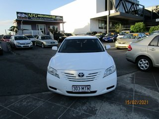 2008 Toyota Camry ACV40R 07 Upgrade Altise White 5 Speed Automatic Sedan.