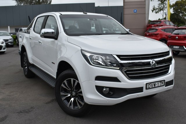 Used Holden Colorado RG MY16 LTZ Crew Cab Tuggerah, 2016 Holden Colorado RG MY16 LTZ Crew Cab White 6 Speed Manual Utility