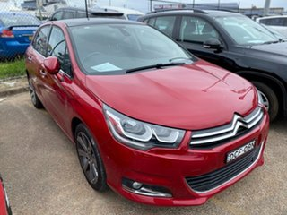 2015 Citroen C4 B7 MY15 Exclusive Red 6 Speed Sports Automatic Hatchback.