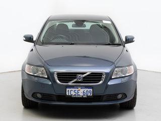 2008 Volvo S40 MY08 T5 AWD Blue 5 Speed Auto Geartronic Sedan.