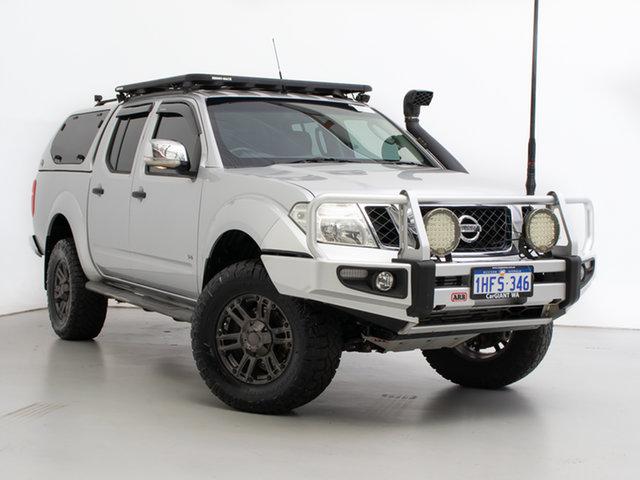 Used Nissan Navara D40 MY12 ST-X 550 (4x4), 2013 Nissan Navara D40 MY12 ST-X 550 (4x4) Silver, Chrome 7 Speed Automatic Dual Cab Utility