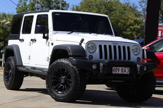 2015 Jeep Wrangler JK MY2016 Unlimited Sport White 5 Speed Automatic Softtop.