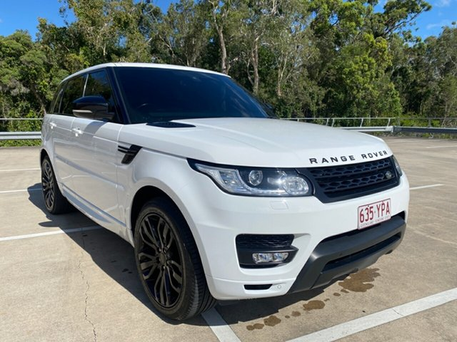 Used Land Rover Range Rover LW Sport 3.0 TDV6 SE Morayfield, 2015 Land Rover Range Rover LW Sport 3.0 TDV6 SE White 8 Speed Automatic Wagon