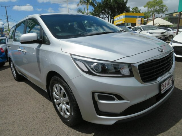 Used Kia Carnival YP MY19 S Mount Gravatt, 2019 Kia Carnival YP MY19 S Silver 8 Speed Sports Automatic Wagon
