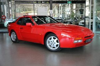 1989 Porsche 944 MY90 S2 Red 5 Speed Manual Coupe.