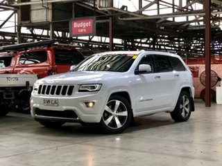 2014 Jeep Grand Cherokee WK MY2014 Overland White 8 Speed Sports Automatic Wagon.