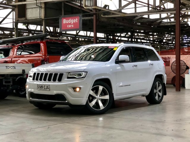 Used Jeep Grand Cherokee WK MY2014 Overland Mile End South, 2014 Jeep Grand Cherokee WK MY2014 Overland White 8 Speed Sports Automatic Wagon
