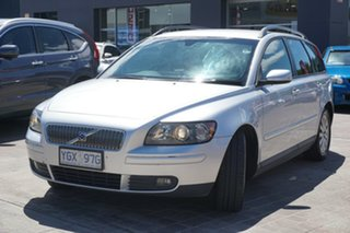 2004 Volvo V50 MY04 Silver 5 Speed Automatic Wagon