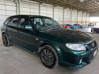 2003 Mazda 323 BJ II-J48 SP20 Green 4 Speed Automatic Hatchback.