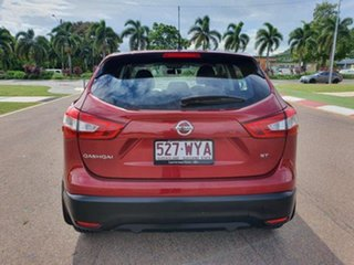 2016 Nissan Qashqai J11 ST Red 1 Speed Constant Variable Wagon
