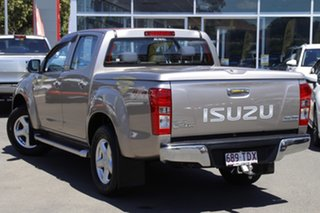 2013 Isuzu D-MAX MY12 LS-U Crew Cab Beige 5 Speed Sports Automatic Utility.