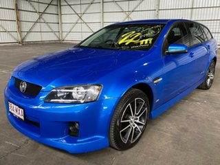 2010 Holden Commodore VE MY10 SS V Sportwagon Blue 6 Speed Manual Wagon.