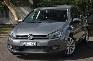 2012 Volkswagen Golf 1K MY12 118 TSI Comfortline Grey 7 Speed Auto Direct Shift Hatchback.
