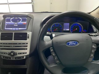 2013 Ford Falcon FG MK2 XR6 White 6 Speed Manual Sedan