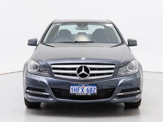 2014 Mercedes-Benz C200 W204 MY14 Tenorite Grey 7 Speed Automatic G-Tronic Sedan.