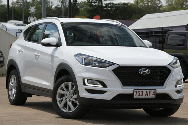 Used Hyundai Tucson TL3 MY19 Active X 2WD Bundamba, 2019 Hyundai Tucson TL3 MY19 Active X 2WD White 6 Speed Automatic Wagon
