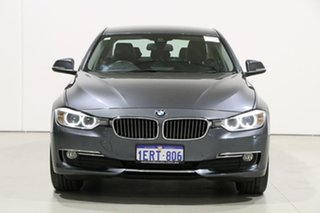 2014 BMW 316i F30 MY14 Grey 8 Speed Automatic Sedan.