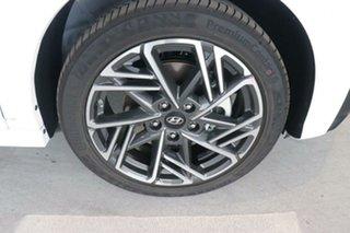 2020 Hyundai Kona Os.v4 MY21 Atlas White Black Roof 7 Speed Sports Automatic Dual Clutch Wagon