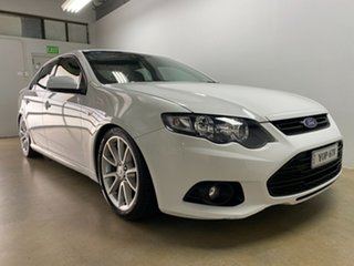 2013 Ford Falcon FG MK2 XR6 White 6 Speed Manual Sedan.