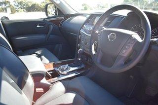 2020 Nissan Patrol Y62 Series 5 MY20 TI Moonstone White 7 Speed Sports Automatic Wagon