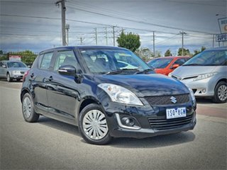 2014 Suzuki Swift FZ GL Navigator Black Automatic Hatchback.