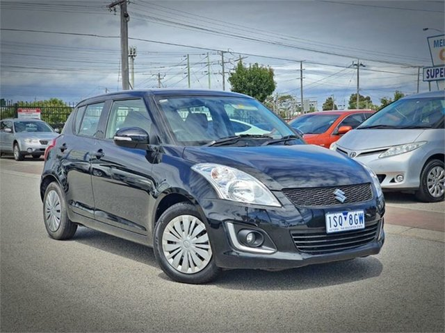 Used Suzuki Swift FZ GL Navigator Cheltenham, 2014 Suzuki Swift FZ GL Navigator Black Automatic Hatchback