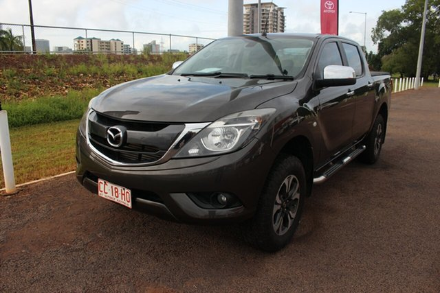 Pre-Owned Mazda BT-50 UP0YF1 XTR Darwin, 2015 Mazda BT-50 UP0YF1 XTR Grey 6 Speed Automatic Dual Cab Utility