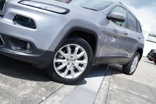 2014 Jeep Cherokee KL Limited Grey 9 Speed Sports Automatic Wagon.