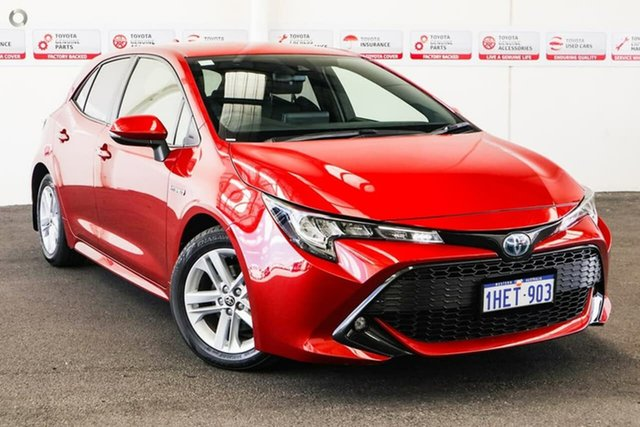 Pre-Owned Toyota Corolla Mzea12R SX Rockingham, 2019 Toyota Corolla Mzea12R SX Volcanic Red 10 Speed Constant Variable Hatchback