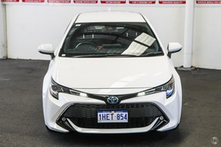2019 Toyota Corolla ZWE211R SX E-CVT Hybrid Glacier White 10 Speed Constant Variable Hatchback.