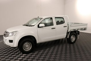 2016 Isuzu D-MAX MY15.5 SX Crew Cab White 5 speed Automatic Cab Chassis