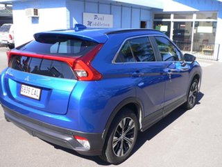 2018 Mitsubishi Eclipse Cross YA MY18 ES 2WD Blue 8 Speed Constant Variable Wagon.