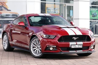 2016 Ford Mustang FM GT Fastback SelectShift Burgundy 6 Speed Sports Automatic Fastback.