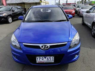2011 Hyundai i30 FD MY11 SLX Blue 4 Speed Automatic Hatchback